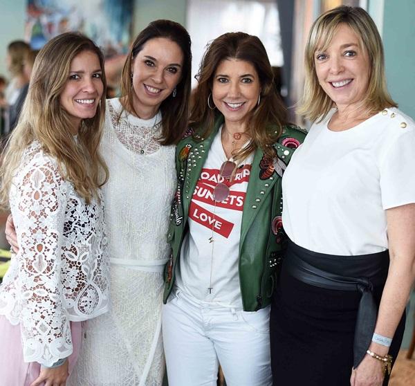 Aline Araujo, Esther Schattan, Gorete Colaco e Anette Rivkind