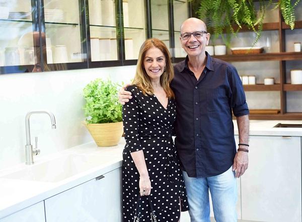 Ana Carmen Alvarenga e Caco Borges
