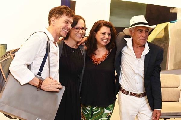 Andre Piva, Gisele Taranto, Celia Paccini e Cadas