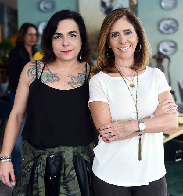 Bel Vasconcelos e Eliane Fiuza