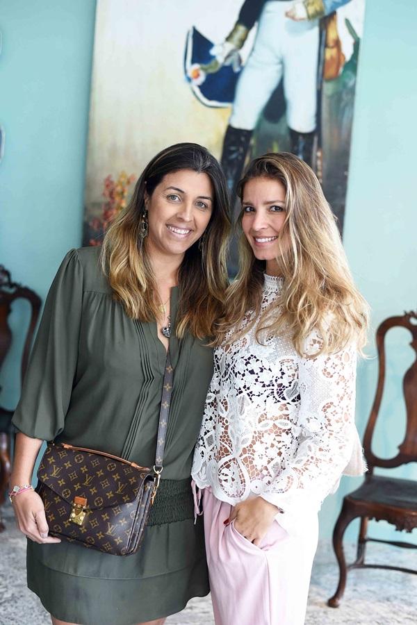 Bianca da Hora e Aline Araujo