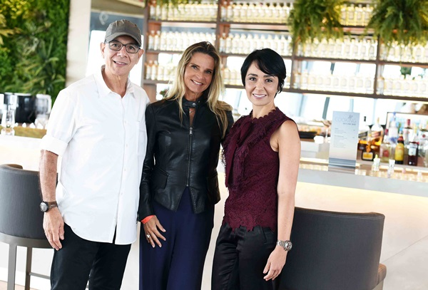 Caco Borges, Sandra Molina e Flaviane Dorneles
