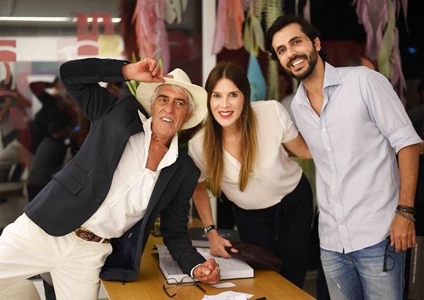 Cadas, Claudia Souza Santos e Artur Fernandes