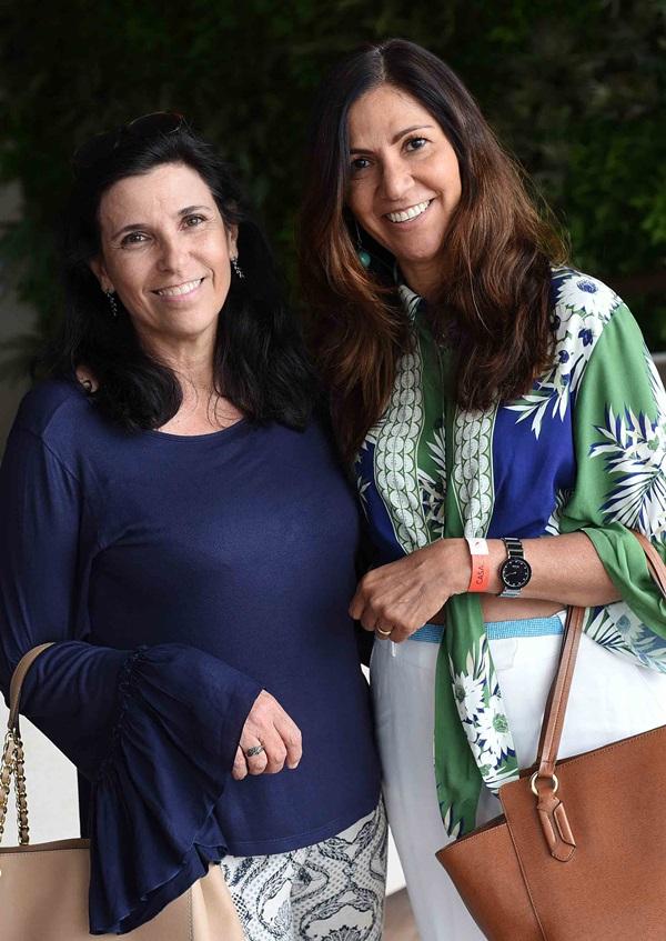 Claudia Saraceni e Lucia Manhaes
