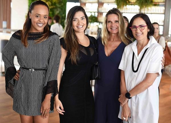Hannah Cabral, Monique Pampolha, Sandra Molina e Gisele Taranto