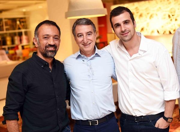 Marcus Ferreira, Salomao Crosman e Paulo Crosman