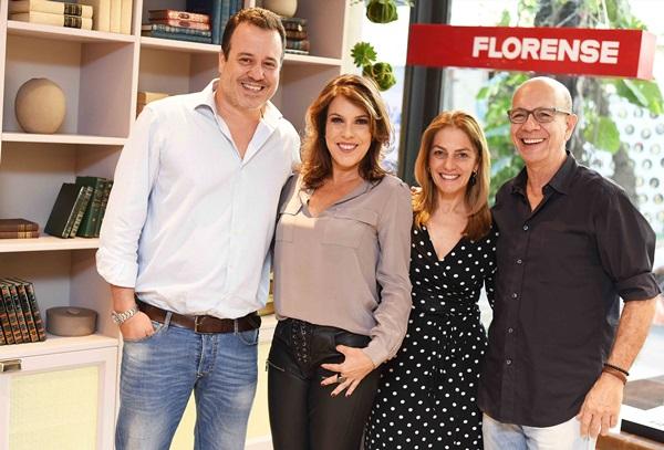 Nicolas Delfino, Andrea Neves Duarte ,Ana Carmen, Alvarenga e Caco Borges