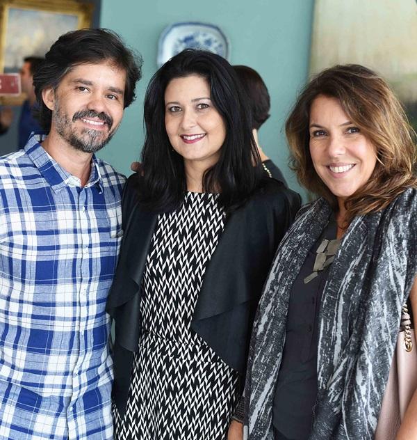 Ricardo Melo, Marcia Morelli e Andrea Neves Duarte