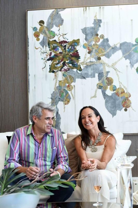 Sergio Goncalves e Cristina Sa