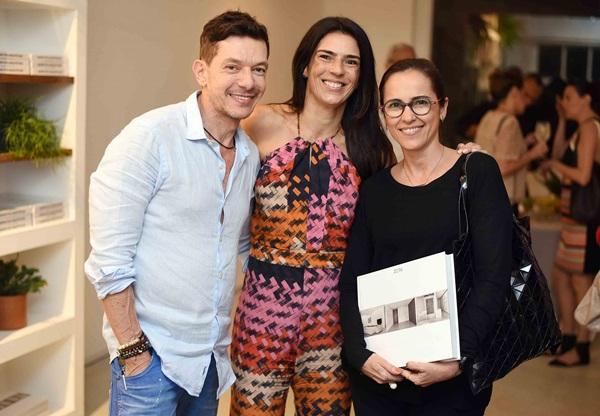 Andre Piva Vanessa Borges e Gisele Taranto
