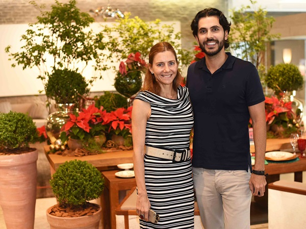 Artur Fernandes e Fernanda Marcolini