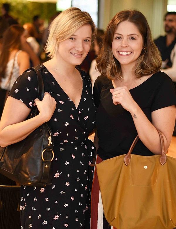 Camila Bortolini e Priscila Campos