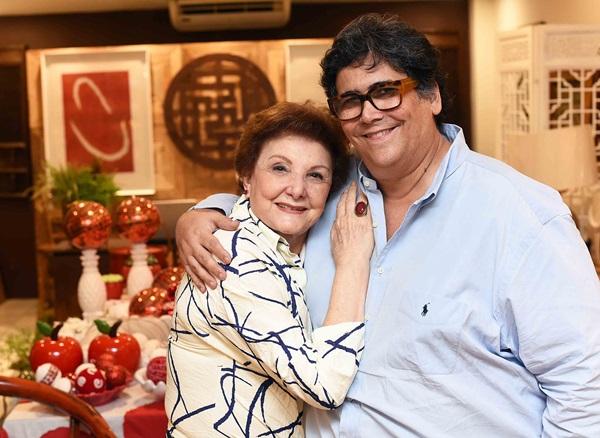 Edith Farjalla e Antonio Neves da Rocha