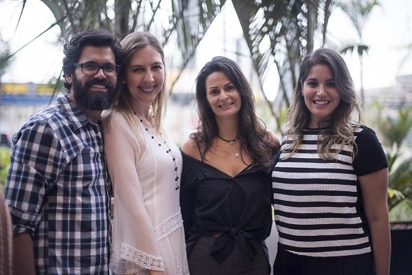 Guilherme Portugal, Sofia Galvão, Sandra Strauss e Karyne Lima