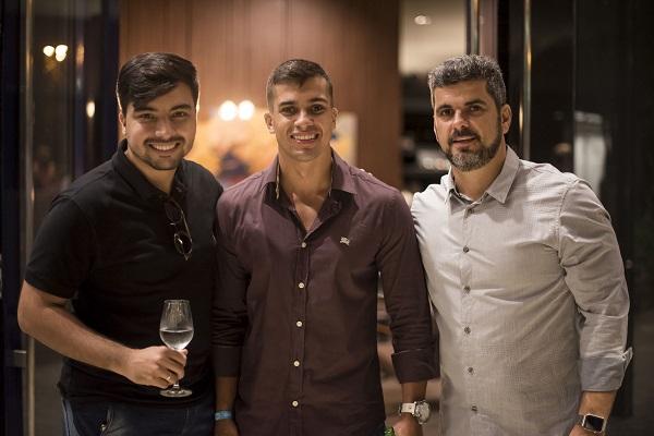 Leonardo Guimarães, Guilherme Galvão e Leandro Galucio