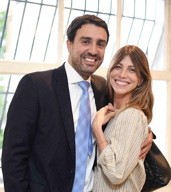 Leonardo Melo e Alessandra Tufvesson