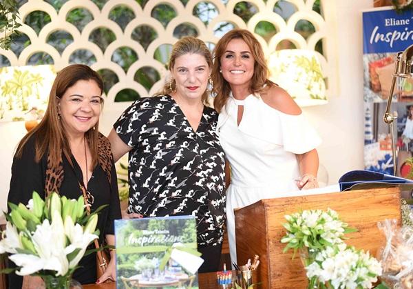 Liliane Abreu, Ribeiro Celina de Mello Franco e Eliane Teixeira