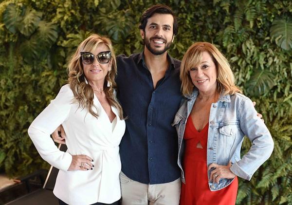 Patricia Hall, Artur Fernandes e Eva Taquechel