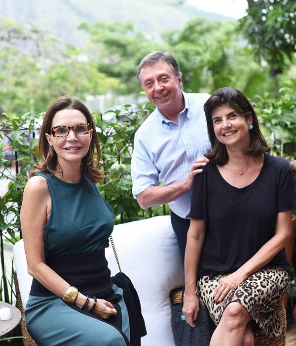 Patricia Mayer Beto Grabowsky e Viviane Grabowsky
