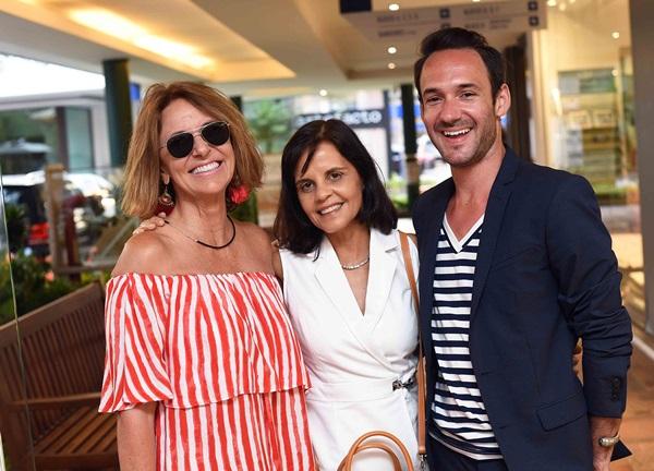 Stella Lutterbach, Angela Falcao e Filipi Sartori