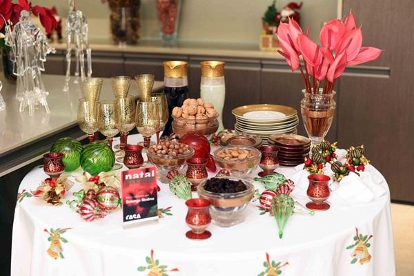 Mesa de Natal por Solange Medina