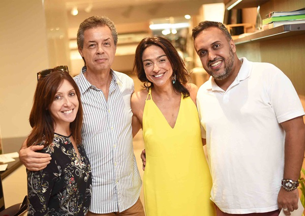 Carmen Mouro, Carlos Boeschenstein, Ana Paula Iespa e Luiz Claudio Ceia