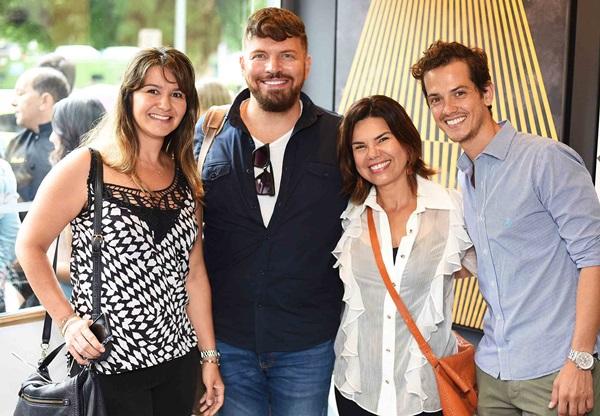 Patricia Netto, Lucio Nocito, Maryanne Lima e Alexandre Serrano