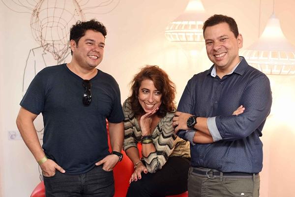 Alver Figueiredo, Isabel Portugal e Pherson Coelho
