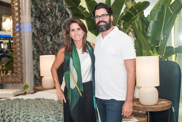 Ana Lucia Juca e Guilherme Portugal - Foto Renato Wrobel