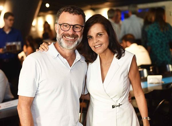 Beto Figueireido e Angela Falcao
