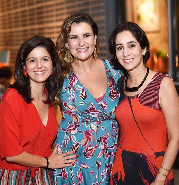 Carol Antunes, Georgeana Godinho e Antonia Leite Barbosa