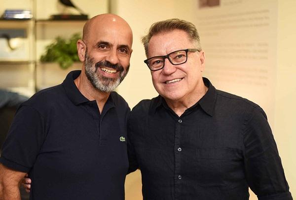 Claudio Gomes e Joao Caetano