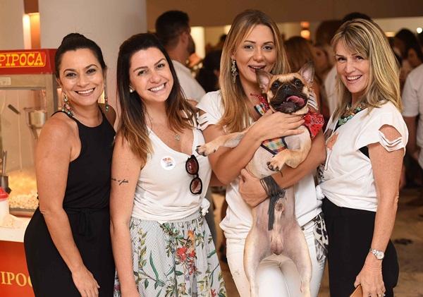 Denise Ferretti, Amanda Ambrosio, Josie Santos e Nathalia Paes