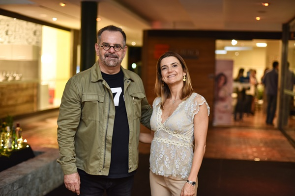 Eduardo Machado e Flávia Marcolini Foto Ari Kaye