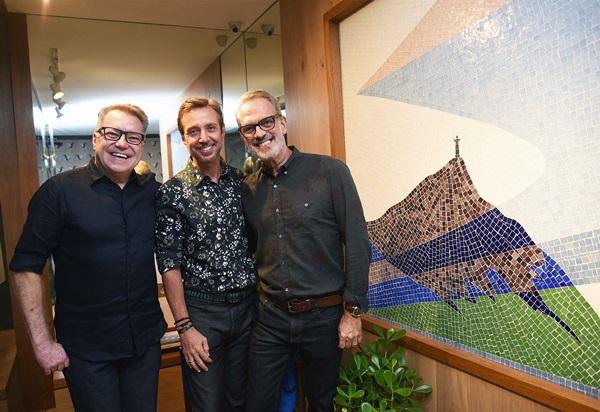 Joao Caetano, Nando Grabowsky e Gaspar Saldanha