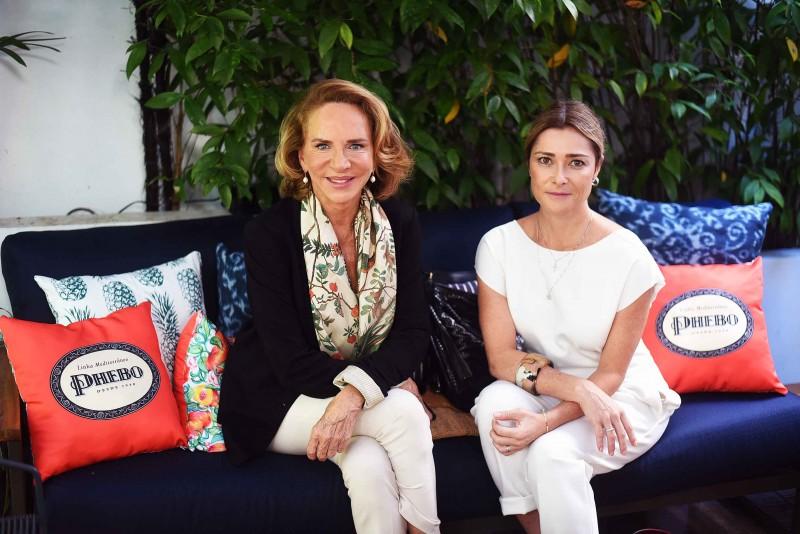Lenny Niemeyer e Flavia Leal