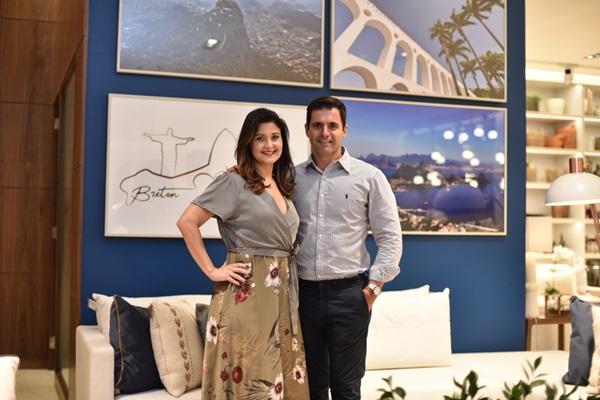Márcia Morelli e Rodrigo Barbosa Foto Ari Kaye