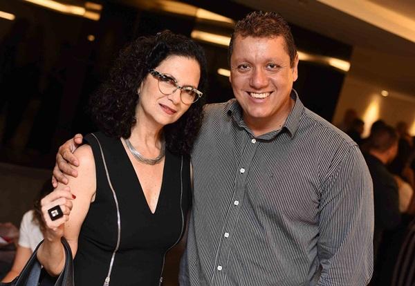 Monique Granja e Luciano Romero