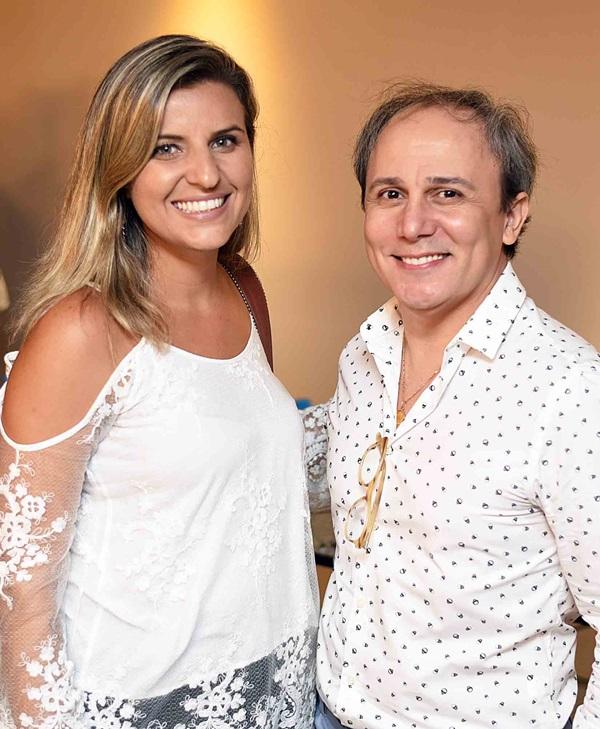Natalia Veronezi e Marlon Castello Branco