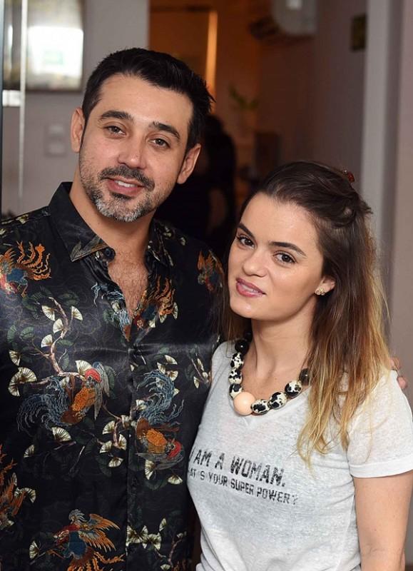Renato Amorelli e Renata Lemos