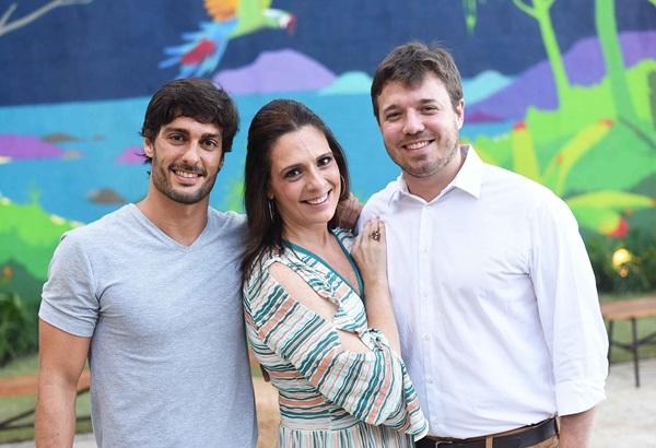 Rodrigo Lasmar, Anna Carolina Werneck e Gustavo Weigert