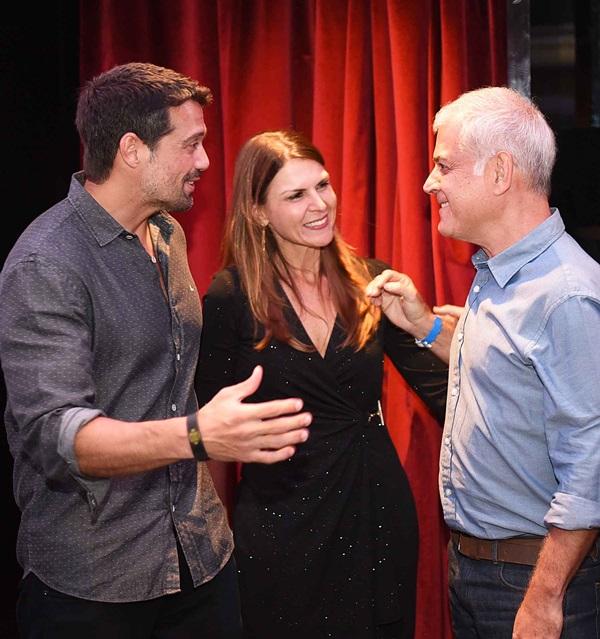 Alexandre Pazzini, Claudia Herszenhaut e Mauricio Nobrega