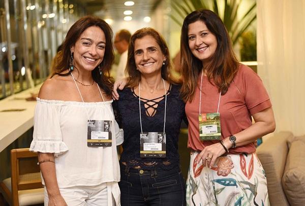 Ana Paula, Iespa Anna Fadul e Marcia Morelli