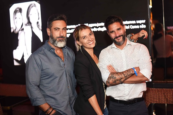 Fabio Cardoso, Carol Freitas e Fabio Bouillet