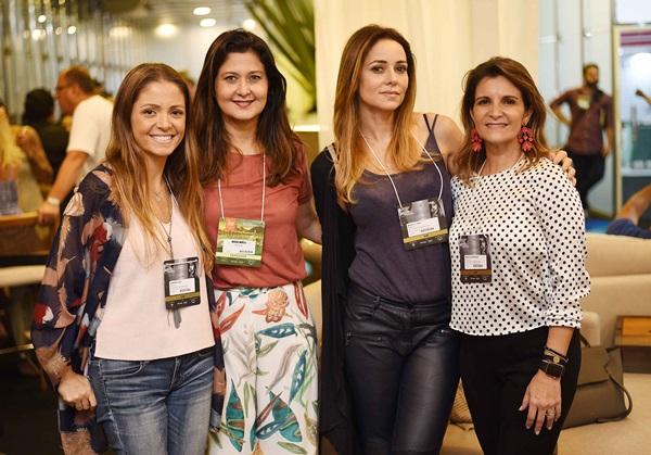 Gabriela Hue, Marcia Morelli ,Maria Clara Boavista e Marcia Rodrigues