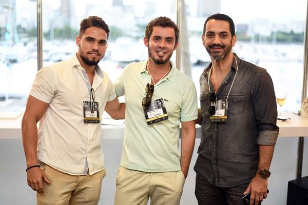 Mateus Pinheiro ,Henrique Ramalho e Ricardo Arruda