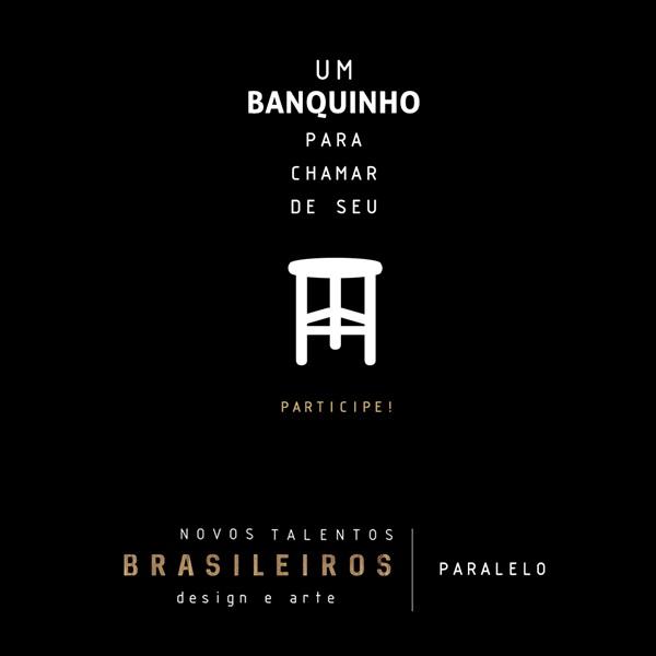 UM BANQUINHO PARA CHAMAR DE SEU - evento paralelo à exposição NOVOS TALENTOS BRASILEIROS