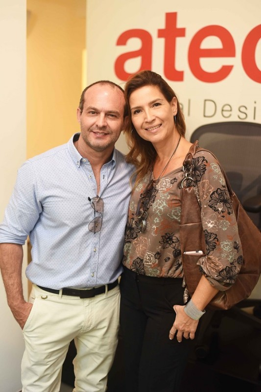 Alexandre Mittaragis e Alina Aguiar