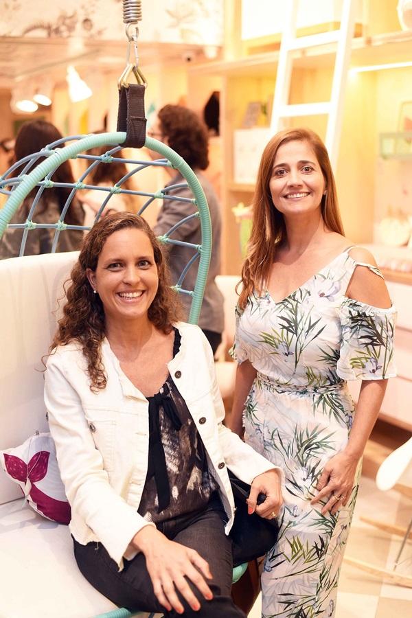 Aline Gerbassi e Carla Napolião