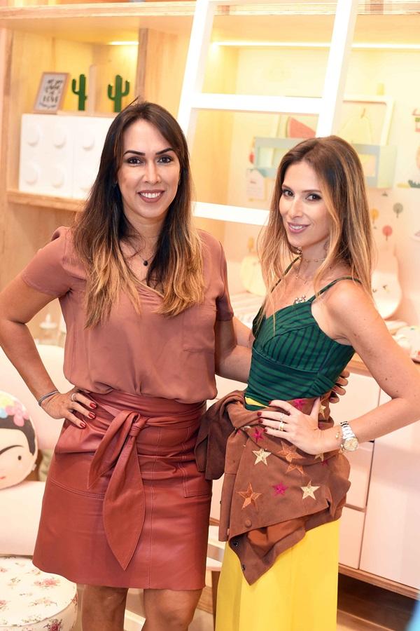 Andressa Fonseca e Anny Meisler